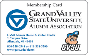 Alumni Membership Benefits Card